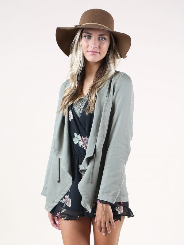 Altar'd State Autumn Mornings Jacket - Jackets & Coats - Apparel. Size Small