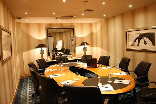 Boardroom at Hotel Tropico. Quote & Book: http://www.south-african-hotels.com/country/angola/hotels/