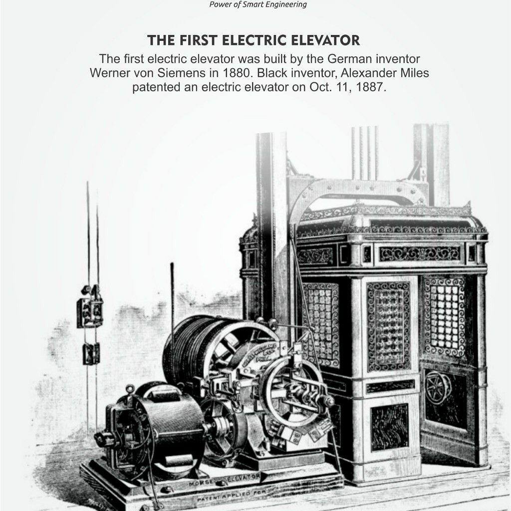 Let's know more about the First Electric Elevator !