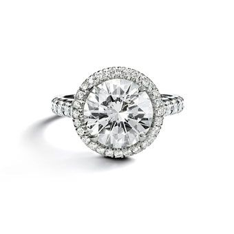 cartier engagement rings photos brides - Cartier Wedding Rings