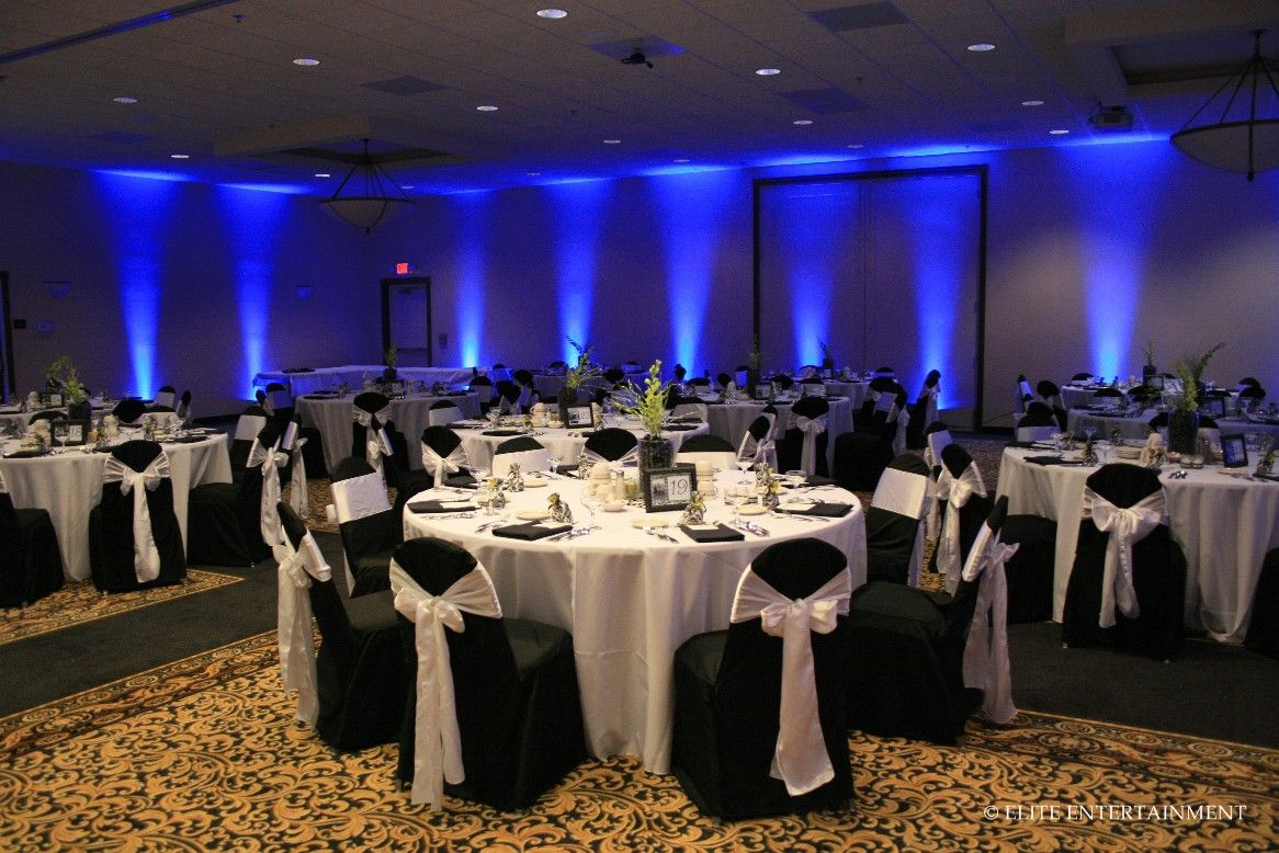 love the lights Table Settings Pinterest Black chair covers