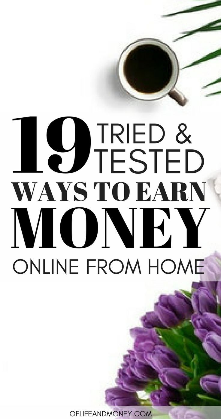 The BEST ideas on making money online and from home are in this post ...