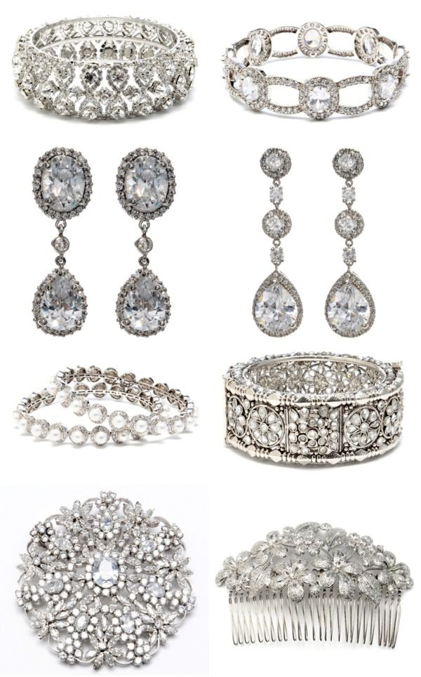Beautiful wedding jewelry by Tejani available at J.Andrew's Bridal