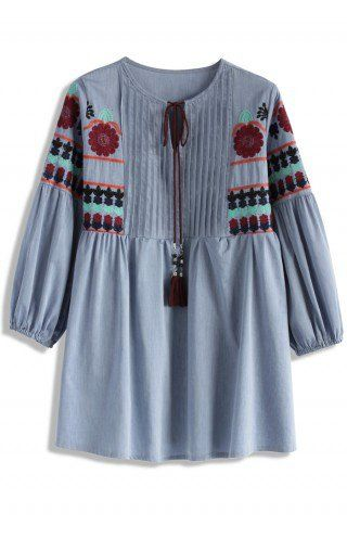 5f20a9b32d67bf Idyllic Doll Boho Top - Embroidery Design - Trend and Style - Retro ...