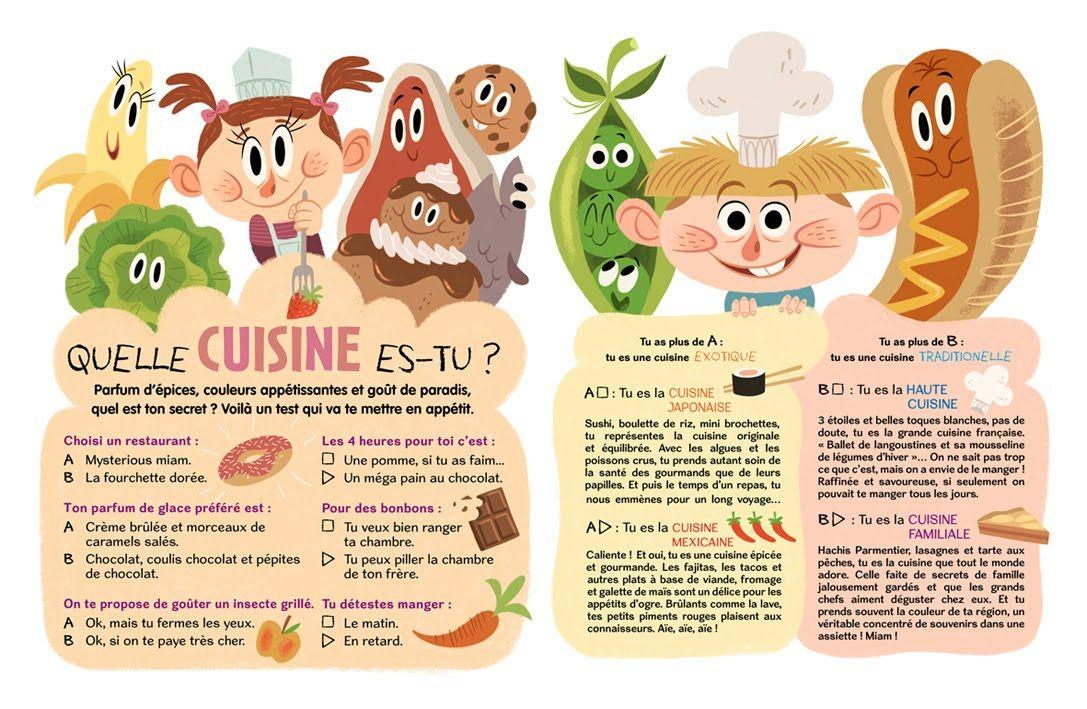 Auroredamant Testcuisine Jpg 1087 709 Book And Magazine Design Illustration Art Kids Book Design Layout