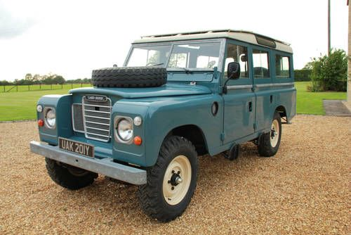 1983 Land Rover Safari 12 Seater For Sale Landrover Pinterest