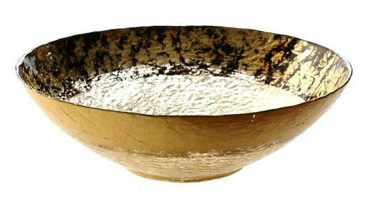 Item # A81261  Leopard Brown and Gold 13.5 inch Bowl Price $50.00 each