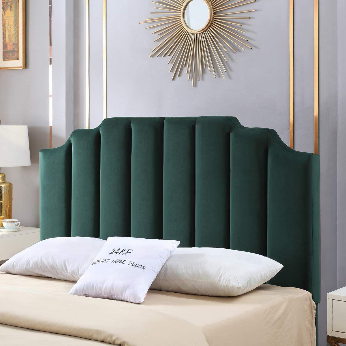 AmazonSmile 24KF MidCentury Velvet Upholstered Tufted