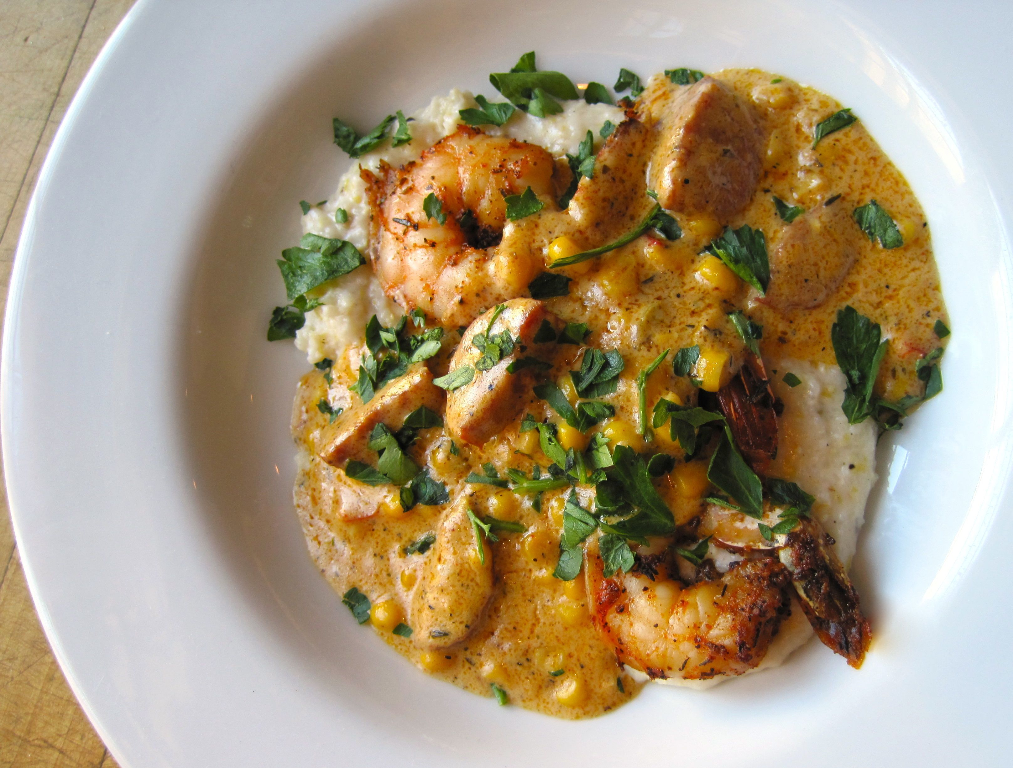 Cafe Amelie - Shrimp and Grits | New Orleans | Pinterest | French ...