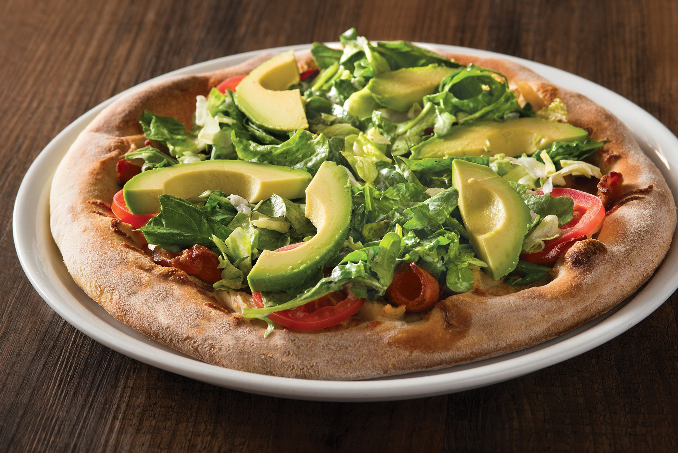 Cpk 39 S California Club Pizza On A New Hand Tossed Dough Cpk Hand Tossed Pizzas
