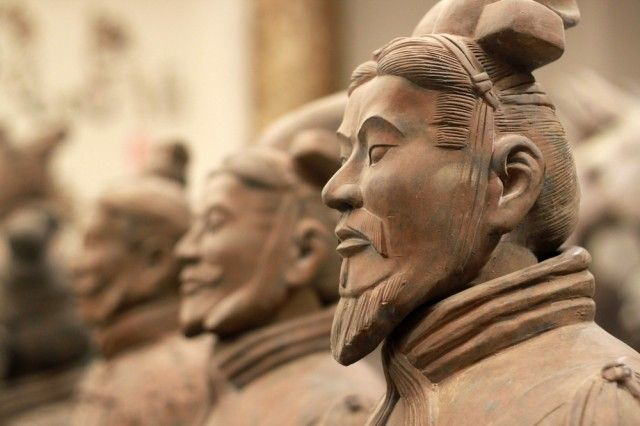 The amazing Terracotta Warriors of China's first Emperor, Qin Shi Huang, in Xian, China