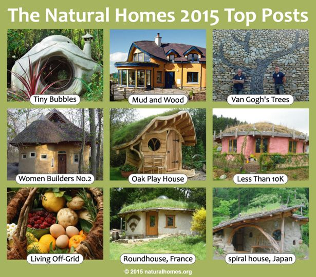 These Are The Natural Homes Top 10 Posts From 2015; A Mix
