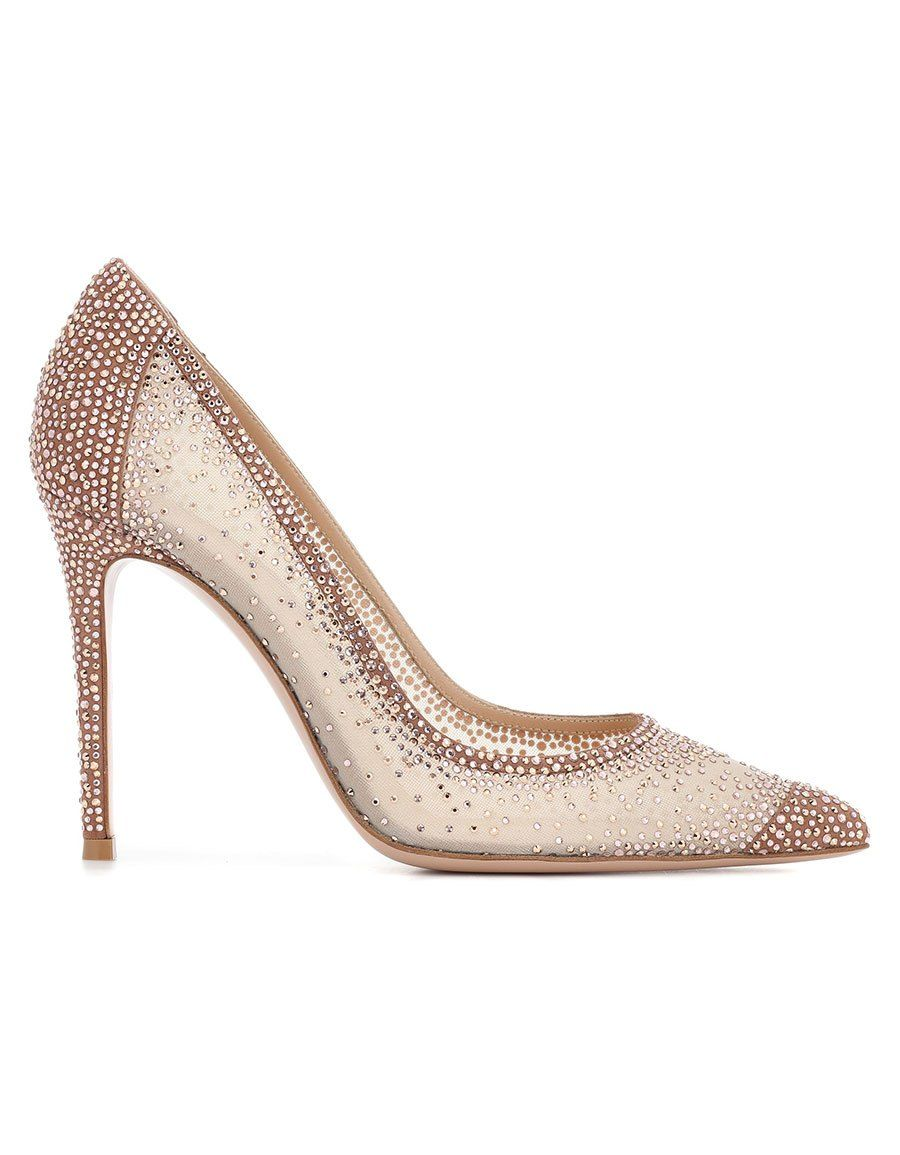 Gianvito RossiRania crystal-embellished pumps pXWvMHGDFr