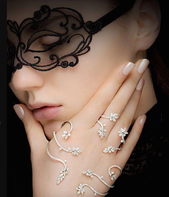 Yeprem Jewelry Ring Finger Cuff: stunning!