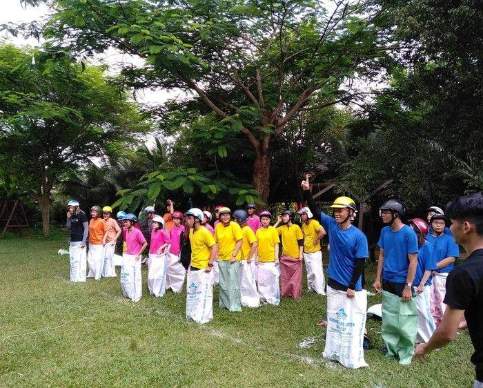 Áo thun sự kiện team building VEPC Đắk Lắk - Hình 1