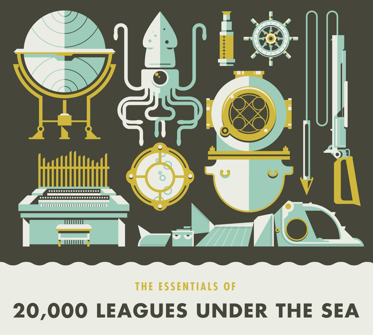 The Essentials Of 20 000 Leagues Under The Sea By Justin