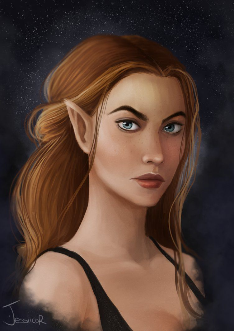 Feyre Archeron High Lady Of The Night Court By Jessicarix