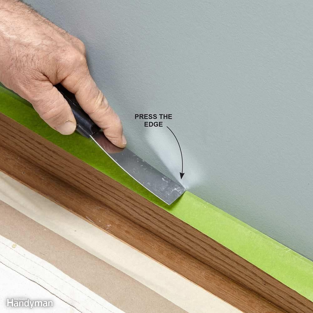 Tips For How To Use Painter S Tape Painters Tape Home Improvement Loans Home Improvement