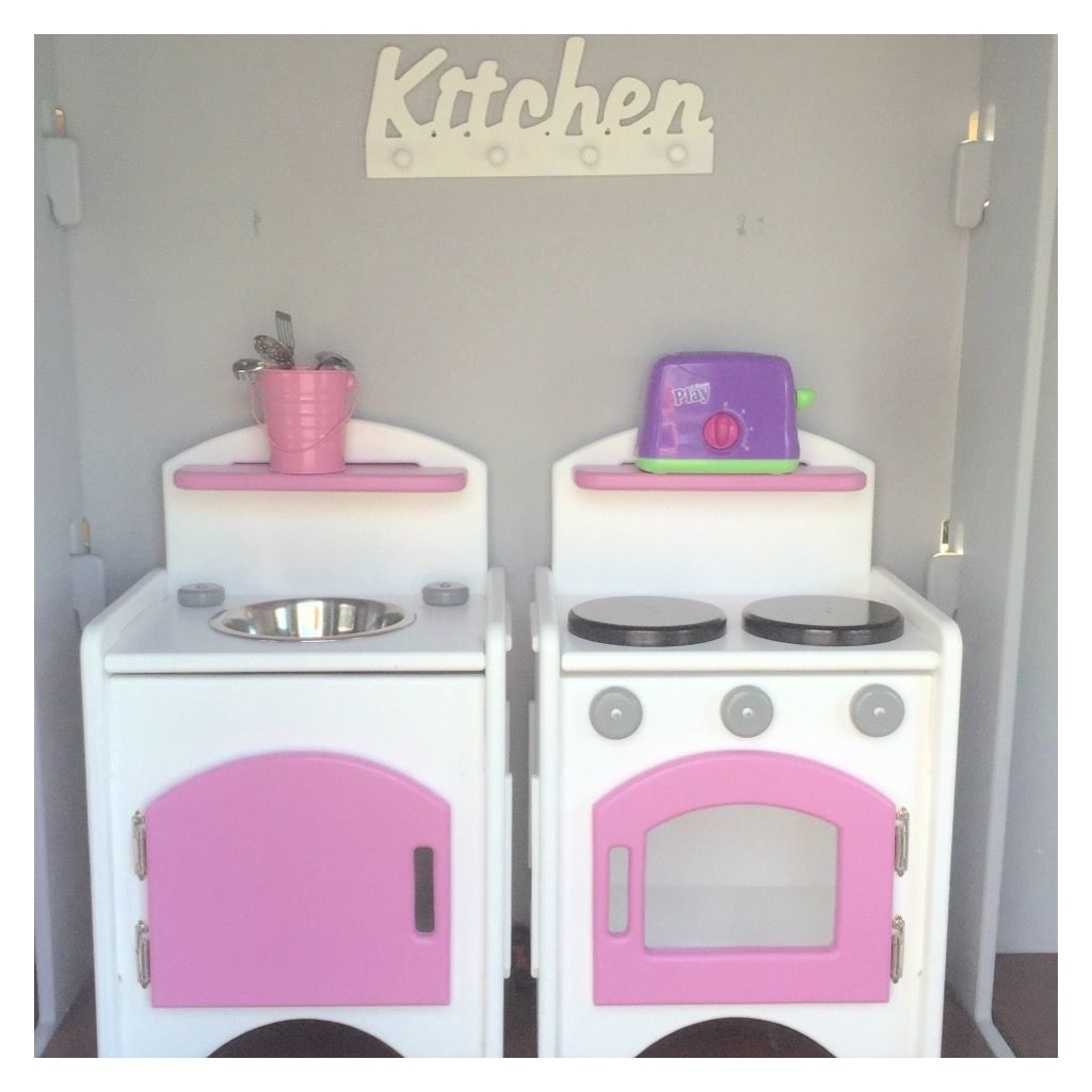 cubby house furniture. Wooden Play Furniure, Cubby House Furniture - Kitchen Stove And Sink Vanity Set