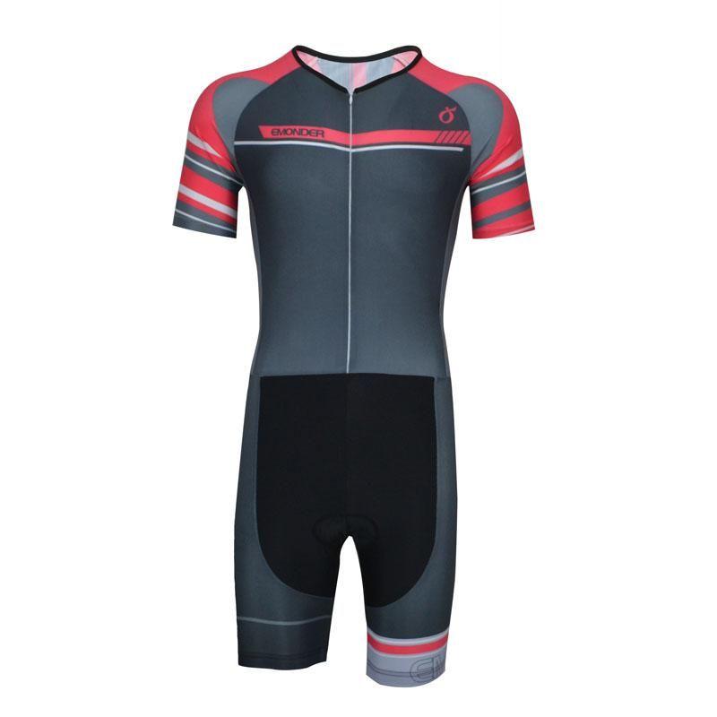 6fd9b1913 EMONDER Cycling Men s Cycling Clothing Kit Triathlon Cycling Jersey Pro  Team Bike Summer Bicycle Wear Breathable
