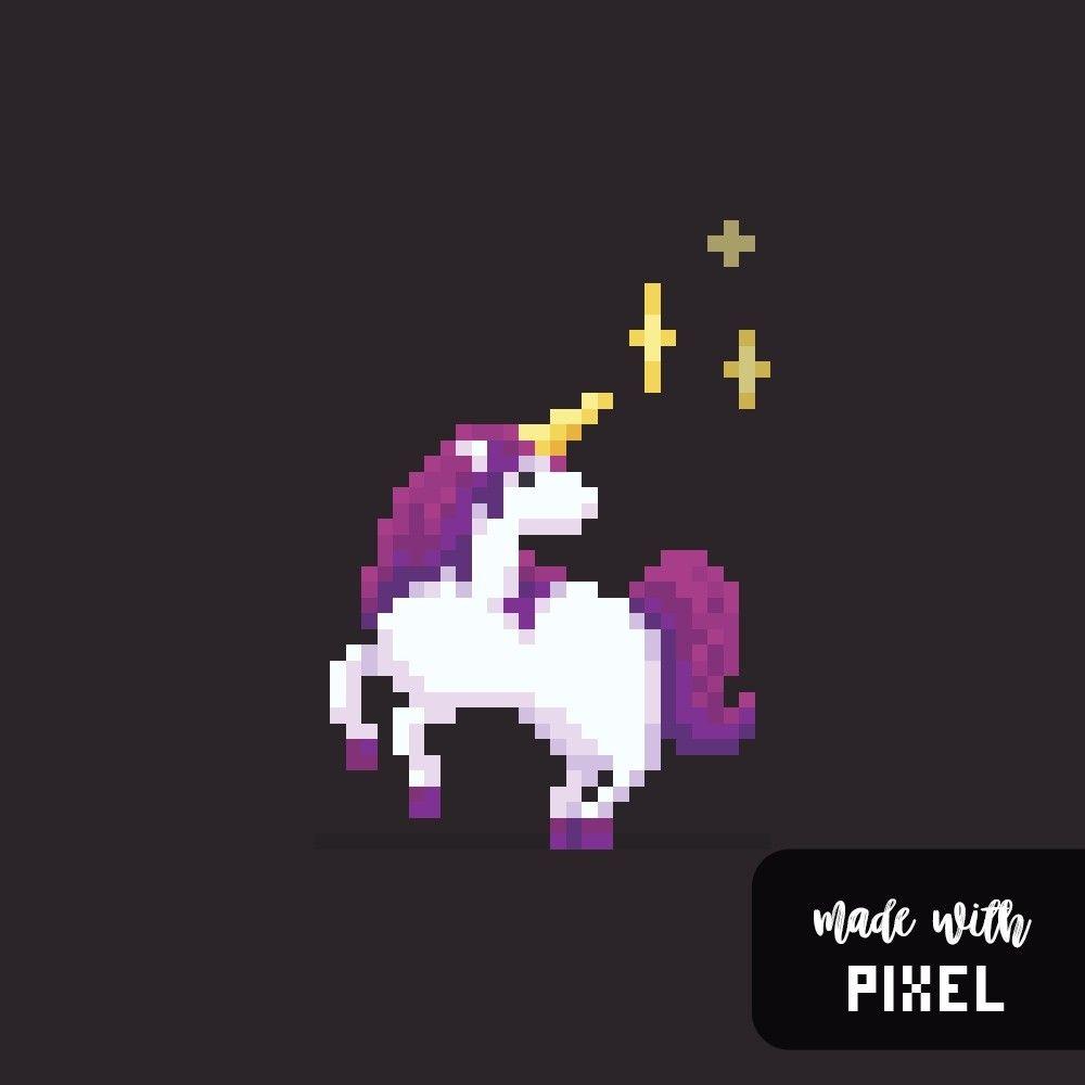 Unicorn pixel art | Картинки