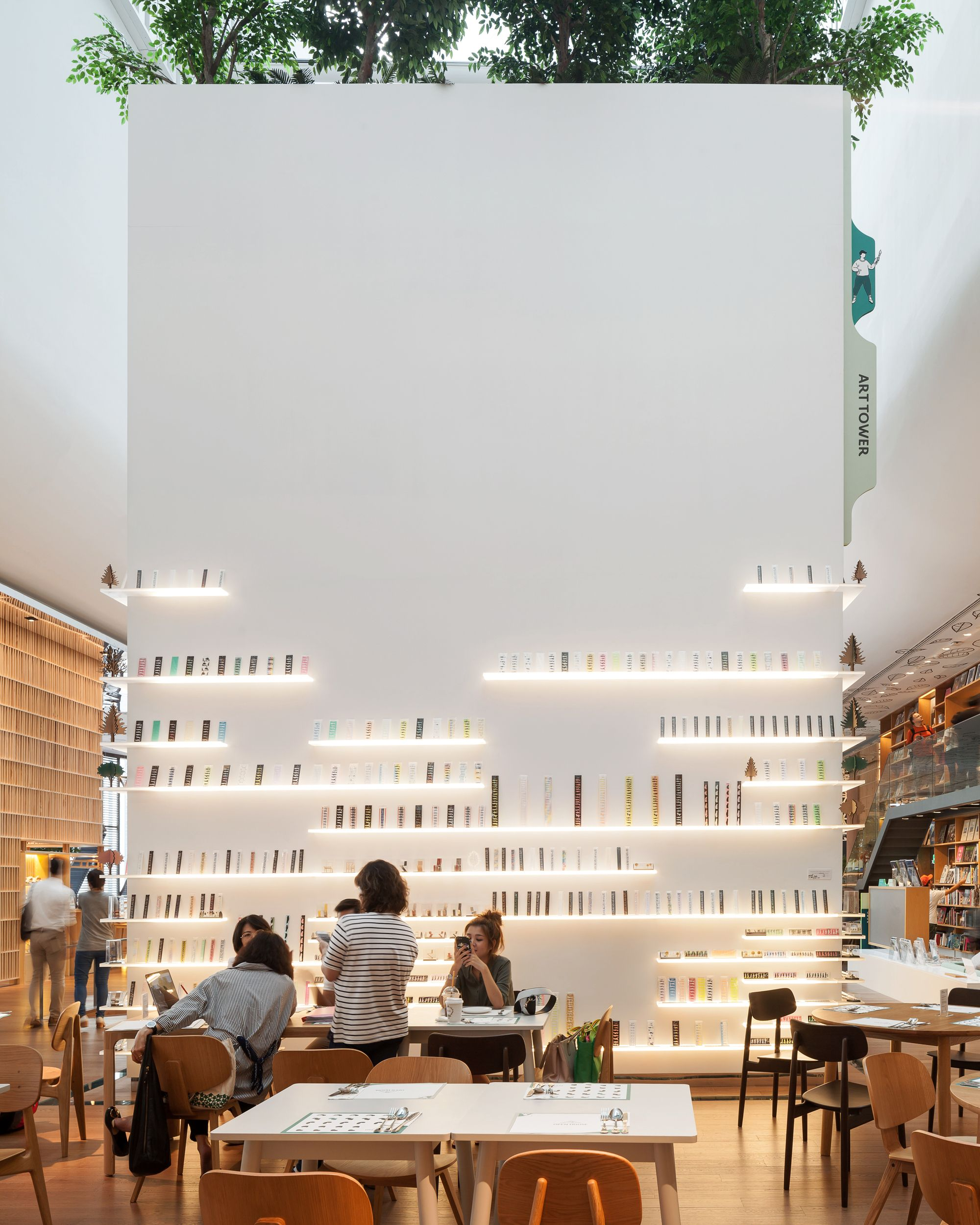 Klein Dytham architecture   14 is part of Restaurant interior -  Klein Dytham architecture  Photograph by Ketsiree Wongwan