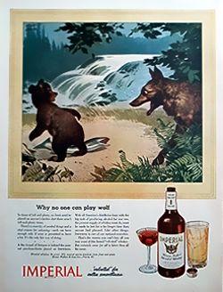 1944 Imperial Whiskey Magazine Advert