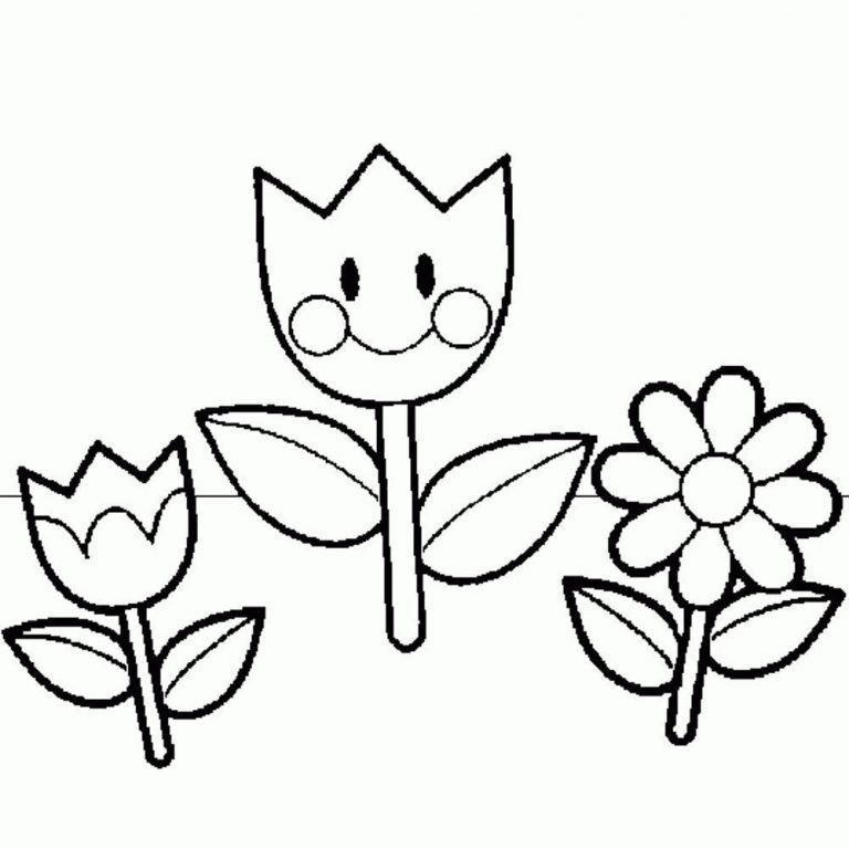 Print Download Some Common Variations Of The Flower Coloring Pages Spring Coloring Pages Summer Coloring Pages Flower Coloring Sheets