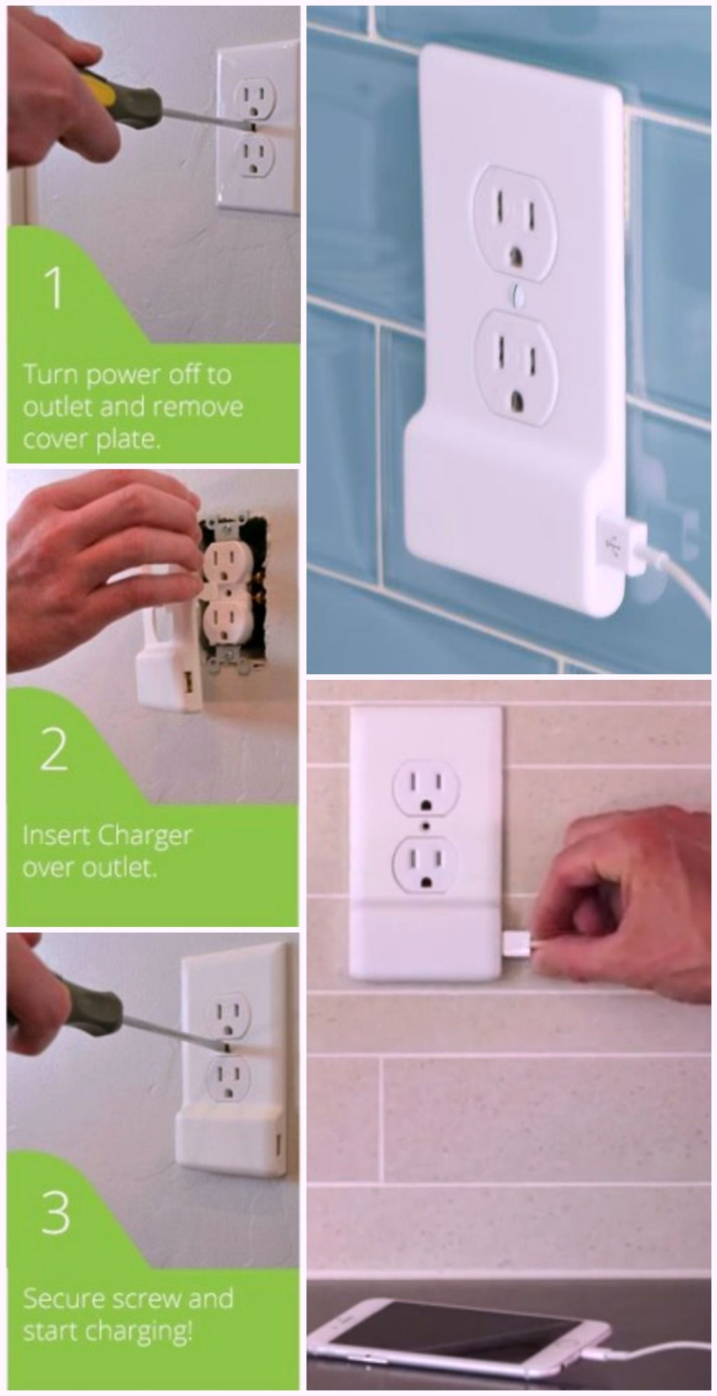 SnapPower AC Outlet Cover Plate #energyefficiency