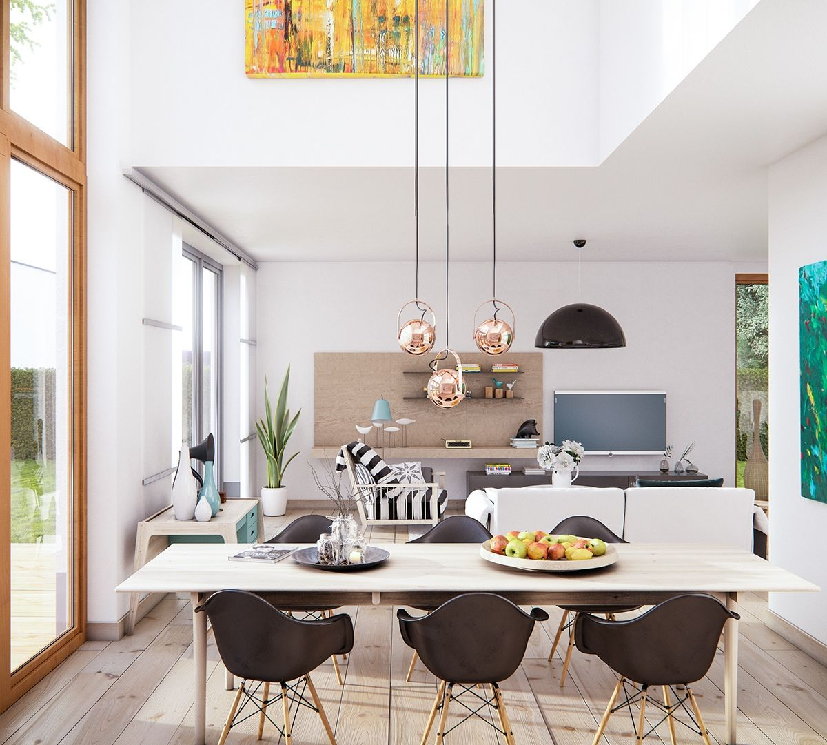Home Designing — (via 3 Natural Interior Concepts With... | Home ...