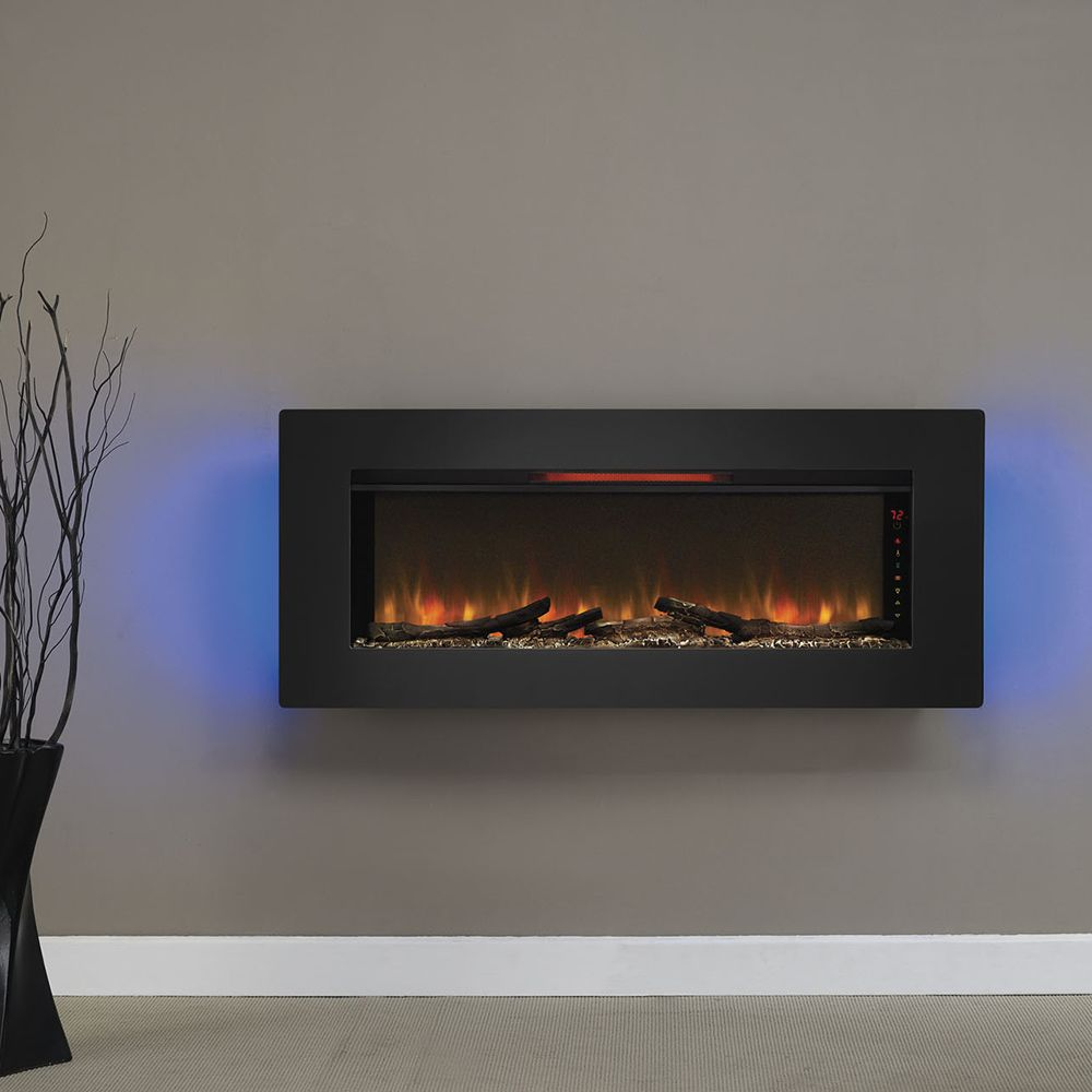 best wall mounted fireplace