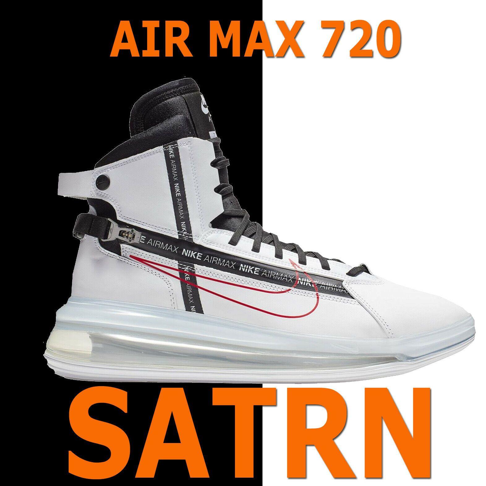 Nike Air Max 720 Saturn White Red Men S Future Shoes Satrn