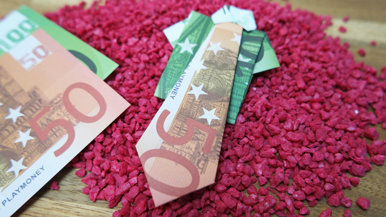 Geldscheine Falten Hemd Krawatte Origami Geldgeschenk Anleitung