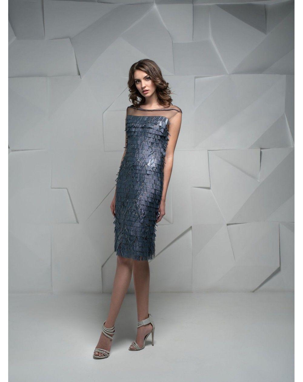 Luxusné krátke šaty na večierky d93602b9b0f