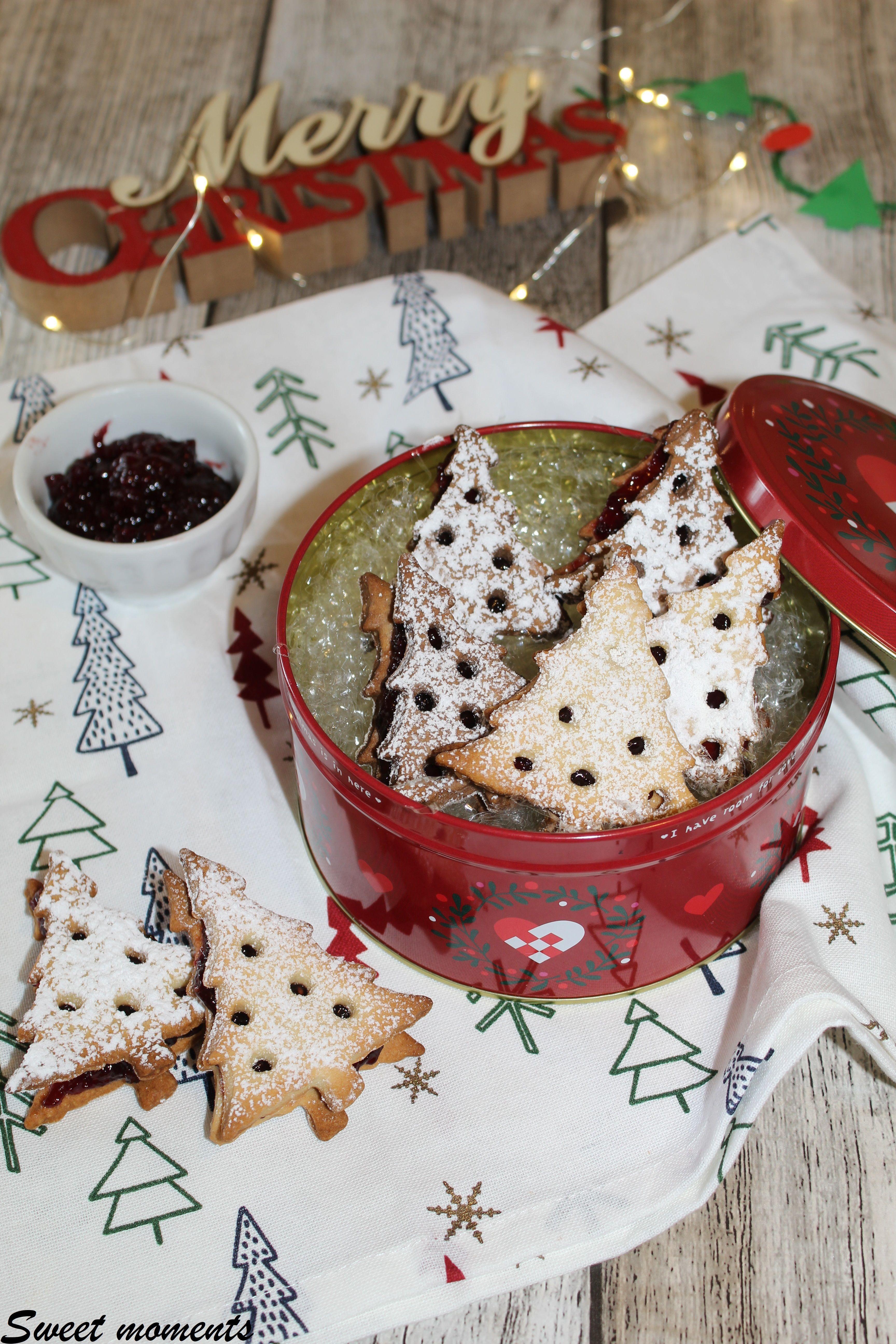 Dolci Di Natale Elenco.Alberelli In Pasta Frolla Con Marmellata Elenco Ricette