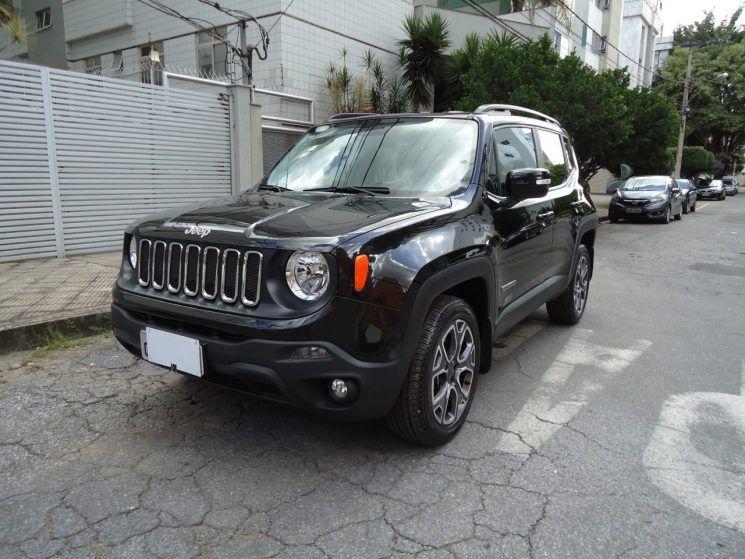 Jeep Renegade Longitude 2 0 4x4 Diesel Jeep Renegade Jeep Banco De Couro