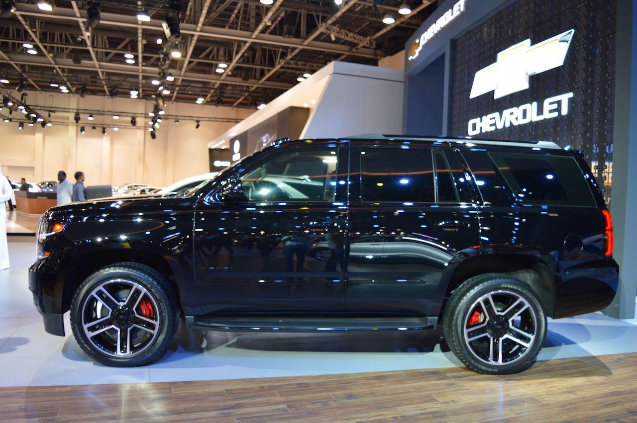 Chevrolet Tahoe Rst Showcased At The 2017 Dubai Motor Show