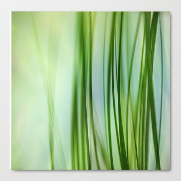 """Grass Vertical"" von Lena Weisbek Kunstdruck auf Leinwand http://www.galerie-artefactum.de/galerie-lena-weisbek/"