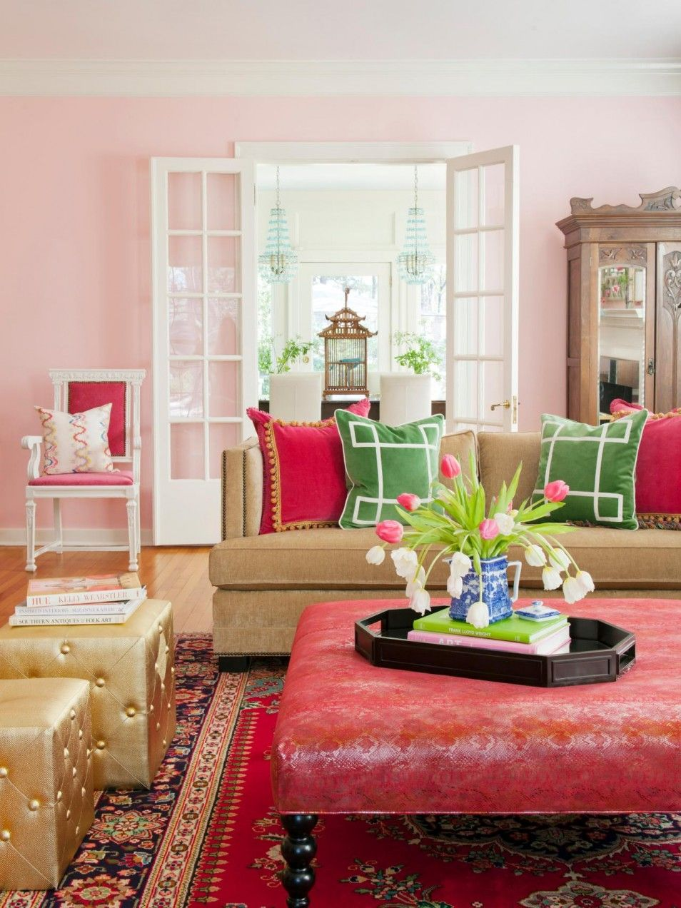 Green And Red Living Room Color Theory Design Home Remodeling Ideas For Lime Christmas Ornaments Whole Hot Pink