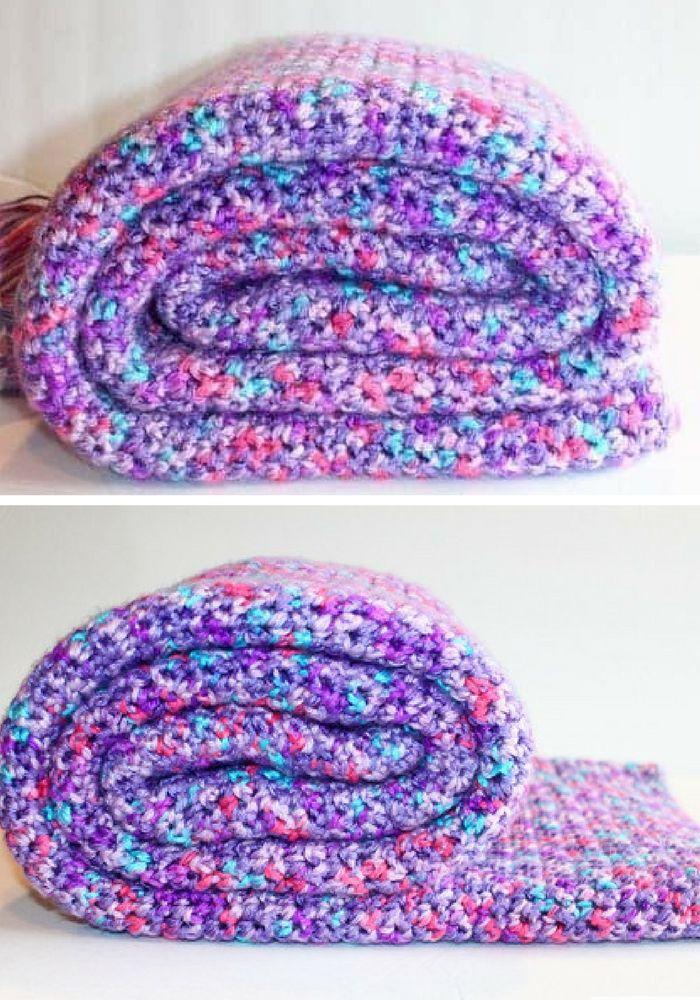 Single Crochet Blanket Pattern A Single Stitch Crochet Blanket