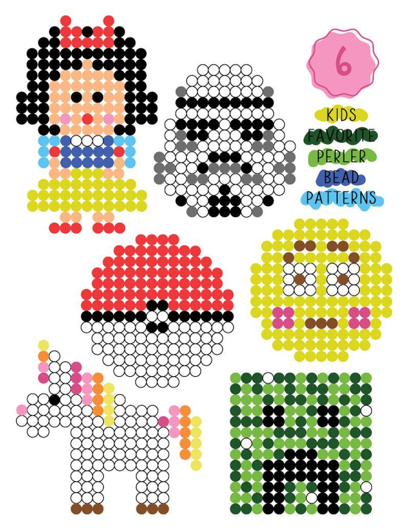 33+ Perler bead crafts easy ideas