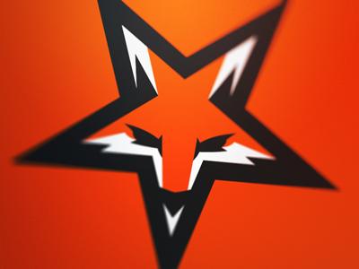 Fox Star Fox Logo Graphic Design Logo Graphic