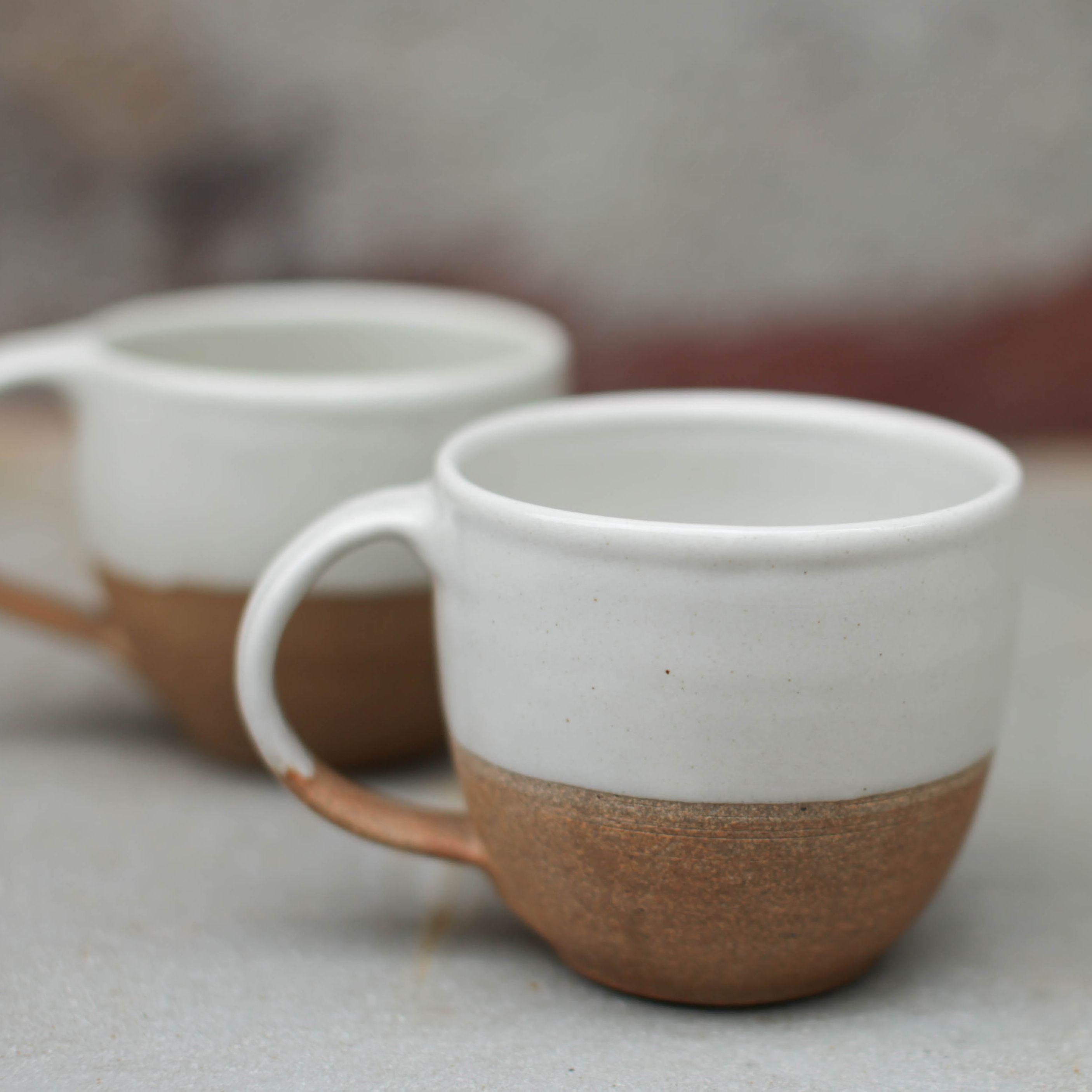 Mali mug by Nkuku. These beautiful ceramic mugs are hand crafted by  artisans so they may have slight variations.