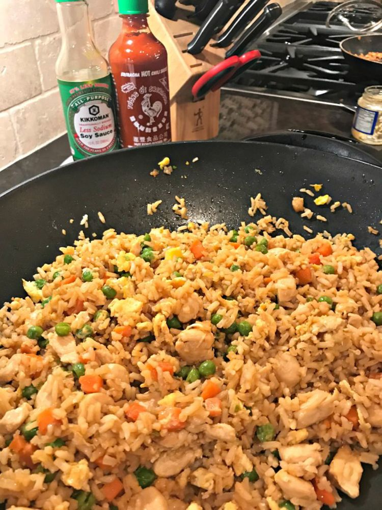 Better than takeout chicken fried rice recipe chicken