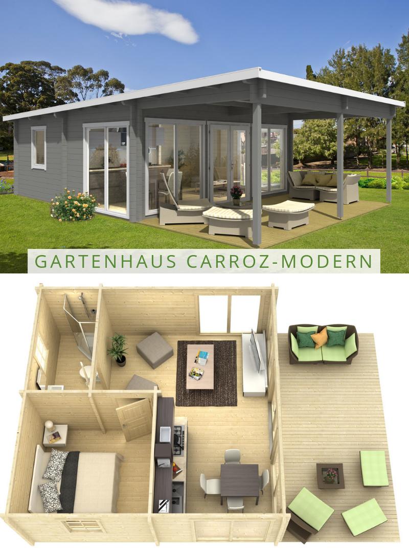 Gartenund Freizeithaus CarrozModern 70 ISO in 2020