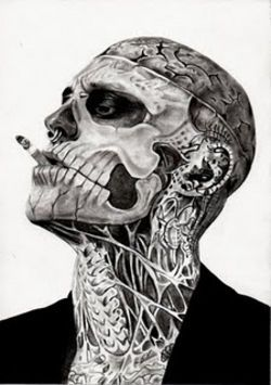 Rick Genest Famous Tattooed Model Zombie Boy 3 Body Art