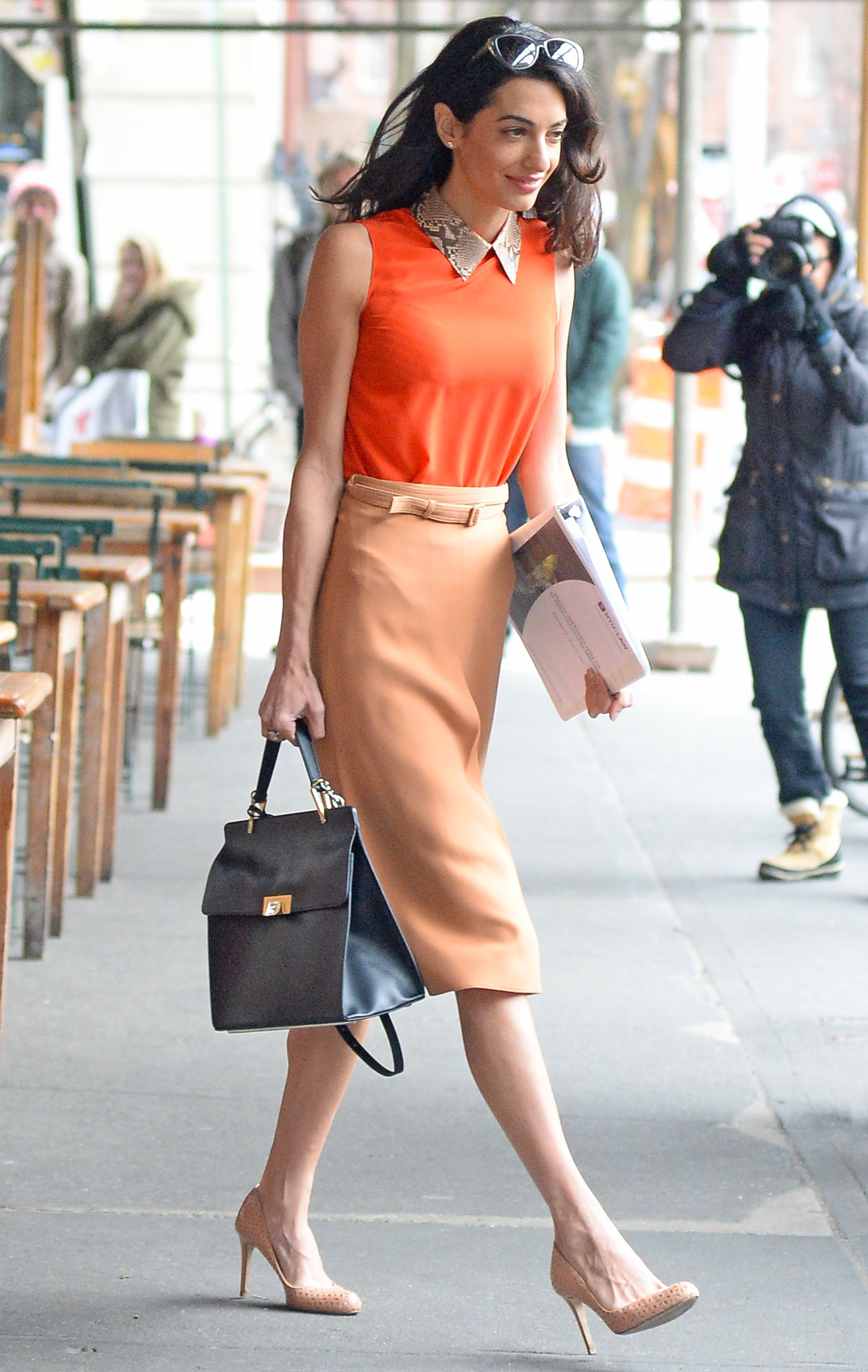 12 Chic Amal Clooney Looks To Inspire Your Work Wardrobe Work