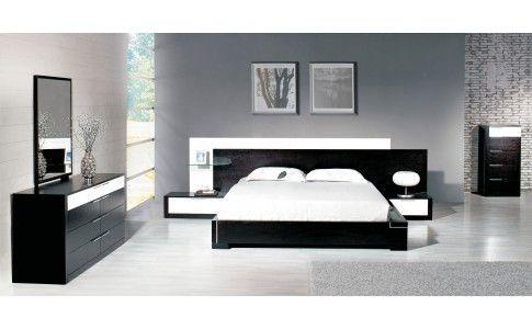 Santa Bedroom Set (Queen Size Bed + 2 Nightstands) By American Eagle  Furniture