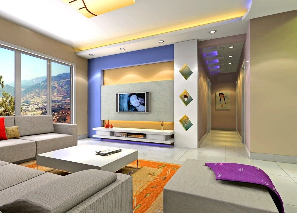 Ceiling Ideas For Living Room paneled ceiling and colorful decor help create this unique living room plan Creative Ideas Living Room Interior Design With Wooden Coffee Table Ceiling Lights And White Sofa