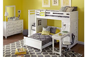 Affordable Ivy League Bunk Beds Rooms To Go Kids Furniture